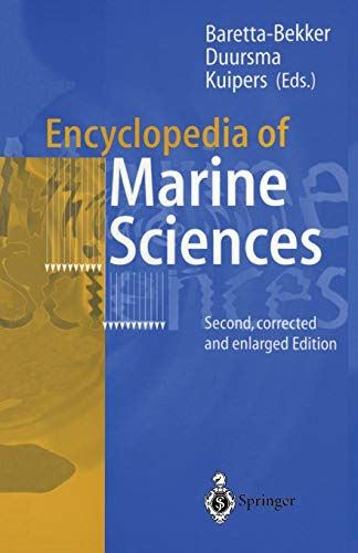 9783540626756: Encyclopedia of Marine Sciences: Second, Corrected and Enlarged Edition
