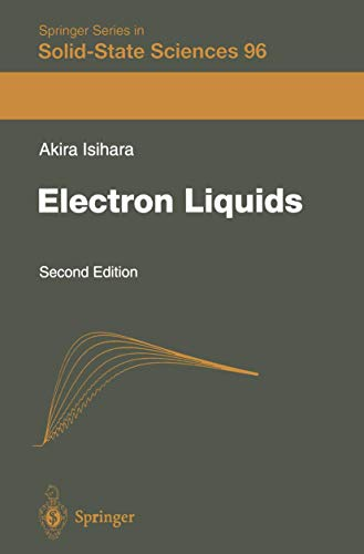 9783540627890: Electron Liquids (Springer Series in Solid-State Sciences)