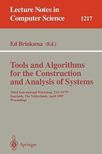 Tools and Algorithms for the Construction and: Ed Brinksma
