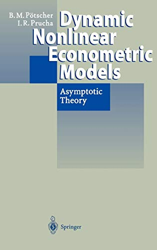 Dynamic Nonlinear Econometric Models: Ingmar R. Prucha