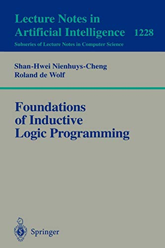 9783540629276: Foundations of Inductive Logic Programming (Lecture Notes in Computer Science)