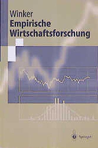 9783540629795: Empirische Wirtschaftsforschung (Springer-Lehrbuch)