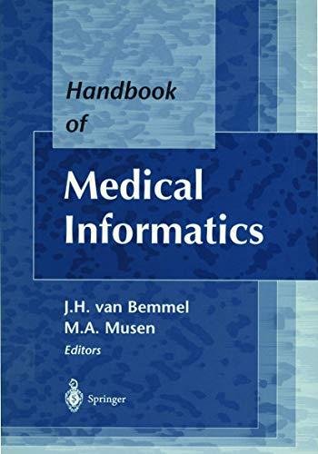 9783540633518: Handbook of Medical Informatics