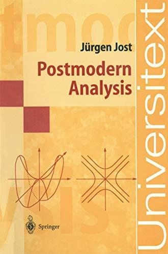 9783540634850: Postmodern Analysis (Universitext)