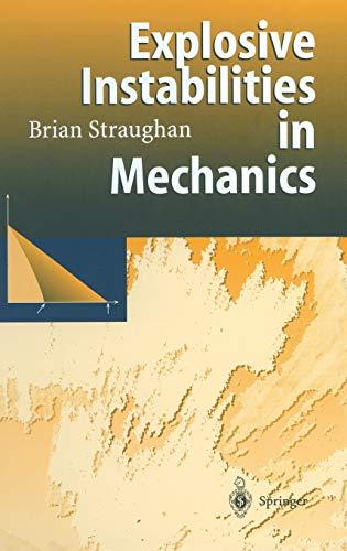 9783540635895: Explosive Instabilities in Mechanics