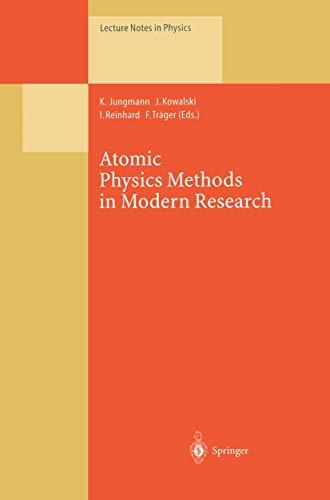 Atomic Physics Methods in Modern Research: Selection: Jungmann, Klaus