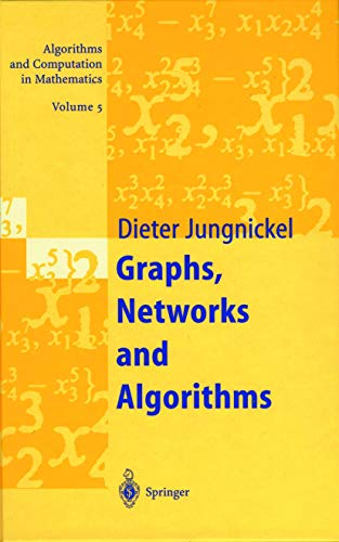 9783540637608: Graphs, Networks & Algorithms