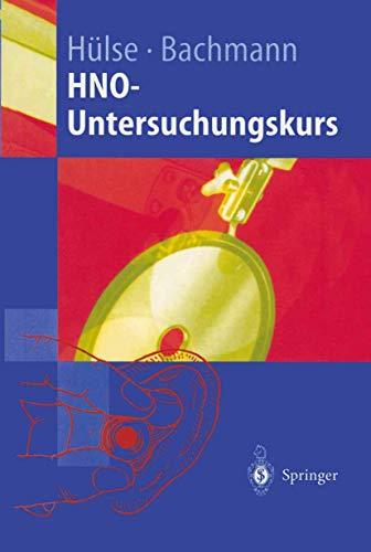 9783540637875: HNO-Untersuchungskurs: Anleitung zum Untersuchungskurs für Studenten (Springer-Lehrbuch) (German Edition)