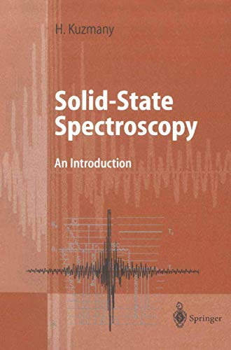 9783540639138: Solid-State Spectroscopy: An Introduction