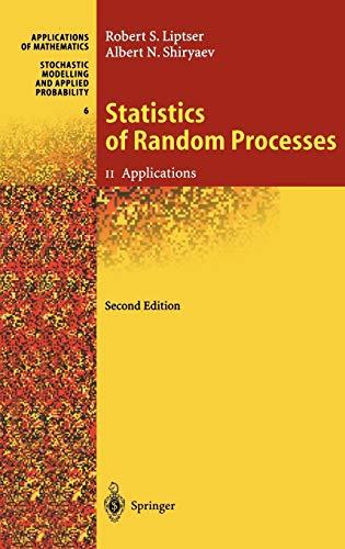 9783540639282: Statistics of Random Processes II