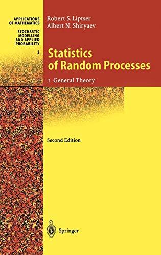 9783540639299: Statistics of Random Processes I