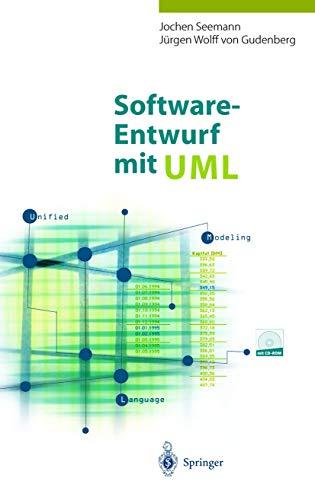 9783540641032: Software-Entwurf Mit UML: Objektorientierte Modellierung Mit Beispielen in Java