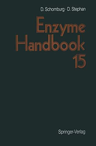 9783540641162: Enzyme Handbook: Volume 15: First Supplement Part 1: First Supplement v. 15 (Enzyme Handbook (See S794))