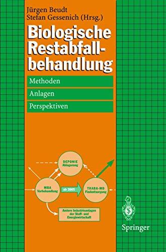 9783540641322: Biologische Restabfallbehandlung: Methoden, Anlagen und Perspektiven (German Edition)