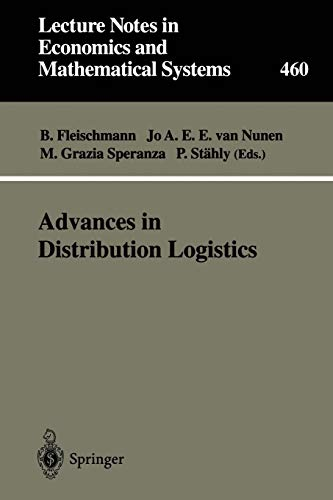 9783540642886: Advances in Distribution Logistics (Lecture Notes in Economics and Mathematical Systems)