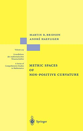 9783540643241: Metric Spaces of Non-Positive Curvature
