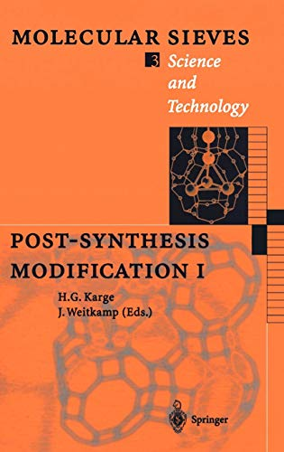 9783540643340: Post-Synthesis Modification I (Molecular Sieves) (v. 1)