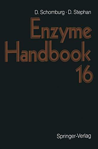 9783540643845: Enzyme Handbook 16: First Supplement Part 2 Class 3: Hydrolases: First Supplement Pt. 2