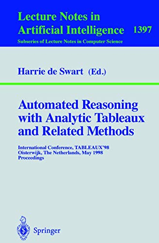 Automated Reasoning with Analytic Tableaux and Related: Swart, Harrie de