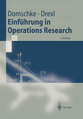 9783540645870: Einführung in Operations Research