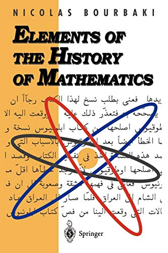 9783540647676: Elements of the History of Mathematics