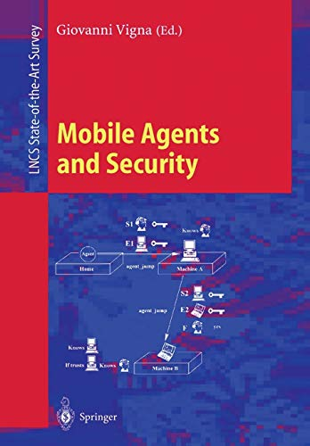 9783540647928: Mobile Agents and Security (Lecture Notes in Computer Science)