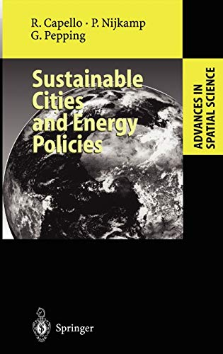 9783540648055: Sustainable Cities and Energy Policies (Advances in Spatial Science)