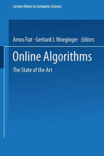 9783540649175: Online Algorithms: The State Of The Art (Lecture
