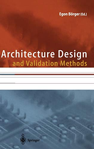 9783540649762: Architecture Design and Validation Methods