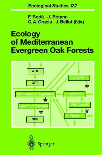 9783540650195: Ecology of Mediterranean Evergreen Oak Forests (Ecological Studies)