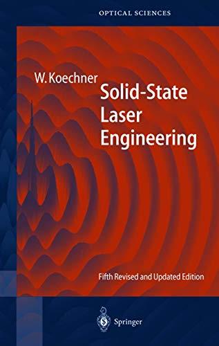 9783540650645: Solid-State Laser Engineering (Springer Series in Optical Sciences)