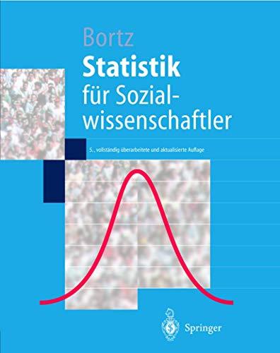 9783540650881: Statistik: für Sozialwissenschaftler (German Edition)