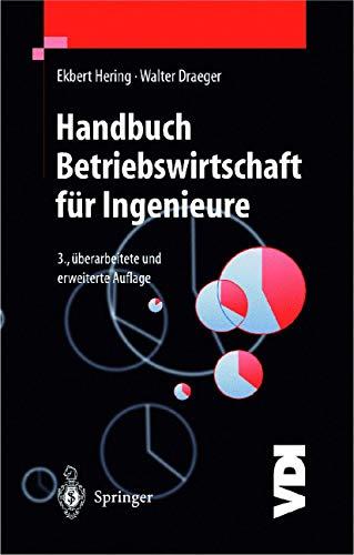 9783540650959: Handbuch Betriebswirtschaft für Ingenieure (VDI-Buch) (German Edition)