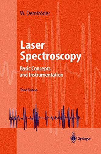 9783540652250: Laser Spectroscopy: Basic Concepts and Instrumentation