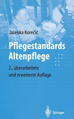 9783540653707: Pflegestandards Altenpflege (German Edition)