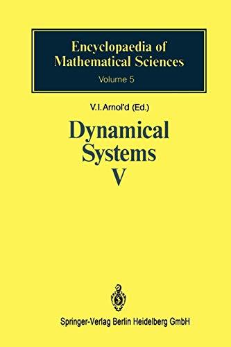 Dynamical Systems V: V. I. Arnold