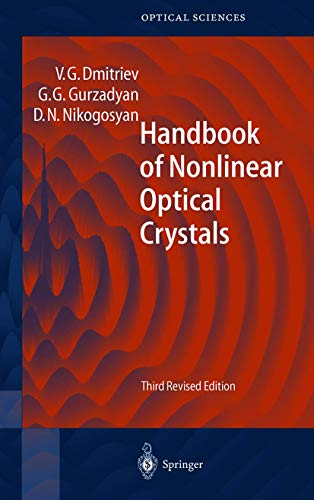 9783540653943: Handbook of Nonlinear Optical Crystals (Springer Series in Optical Sciences)