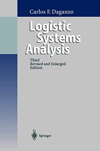 9783540655336: Logistics Systems Analysis