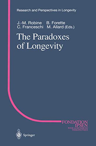 9783540655442: The Paradoxes of Longevity (Research and Perspectives in Longevity)
