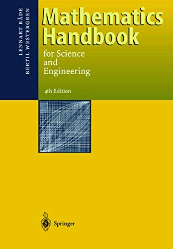 9783540655695: Mathematics Handbook for Science and Engineering
