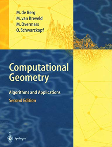 9783540656203: Computational Geometry: Algorithms and Applications