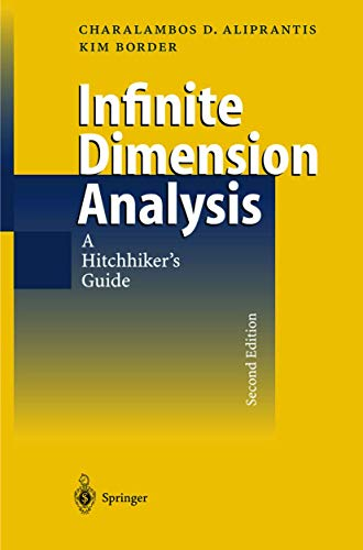 9783540658542: Infinite Dimensional Analysis: A Hitchhiker's Guide