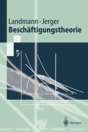 9783540658566: Beschäftigungstheorie (Springer-Lehrbuch) (German Edition)