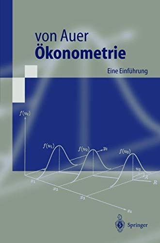 9783540659372: Konometrie: Eine Einf Hrung (Springer-Lehrbuch) (German Edition)