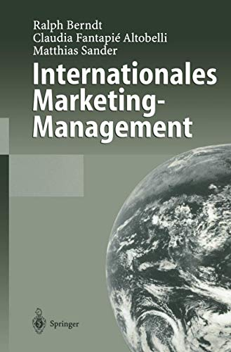 9783540659853: Internationales Marketing-Management (German Edition)