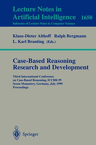CASE-BASED REASONING RESEARCH AND DEVELOPMENT: Bergmann, R.