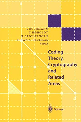 Coding Theory, Cryptography and Related Areas: Proceedings: Henning Stichtenoth, Horacio