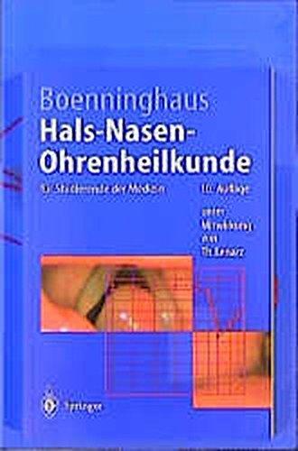 9783540662501: Paket Augenheilkunde und Hals-Nasen-Ohrenheilkunde (Springer-Lehrbuch) (German Edition)