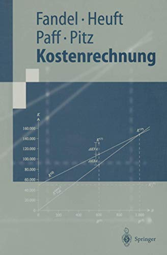 9783540662822: Kostenrechnung (Springer-Lehrbuch) (German Edition)