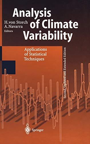 Analysis of Climate Variability: A. Navarra